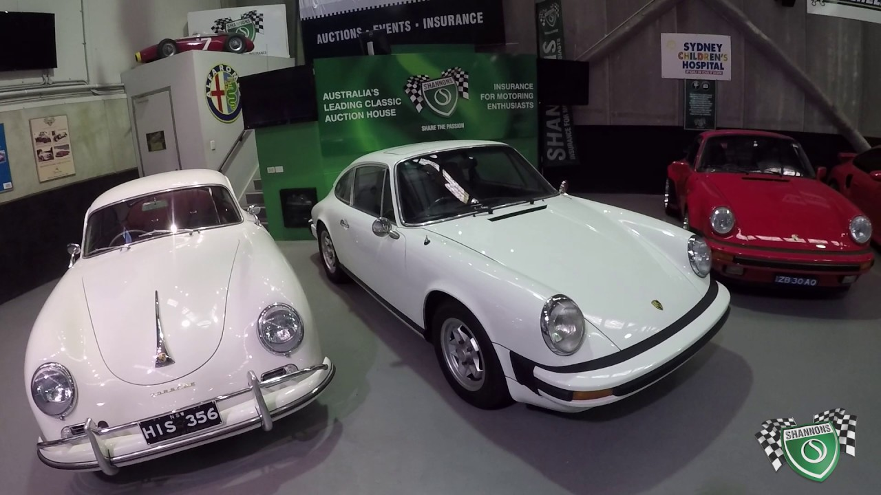 Porsches - 2017 Shannons Sydney Summer Classic Auction