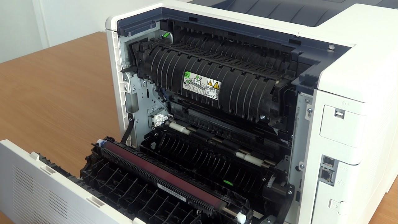 Papierstau Beheben Bei Xerox Phaser 6510 Bzw Workcentre 6515