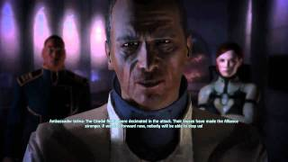 Mass Effect 1 Ending - Renegade (Female Shepard)