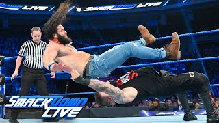HINDI - Kevin Owens vs. Elias – King of the Ring First-Round Match: SmackDown LIVE, August 21, 2019