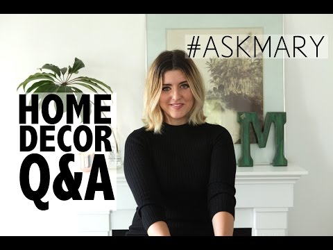 Home Design Q&A: Scandinavian, Modern+Antique, & Bohemian Studio #ASKMARY