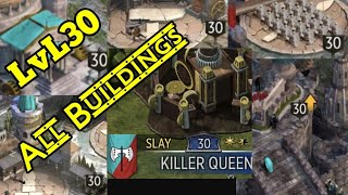 Game Of Thrones Conquest: Level 30 Keep All Buildings Fully Upgraded