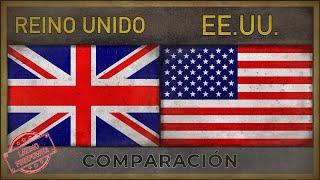 REINO UNIDO vs EE.UU. | Poder Militar Comparación (2018)