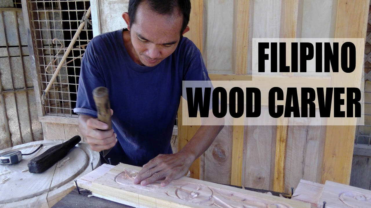 Filipino Wood Carver Handmade Furniture Bulacan