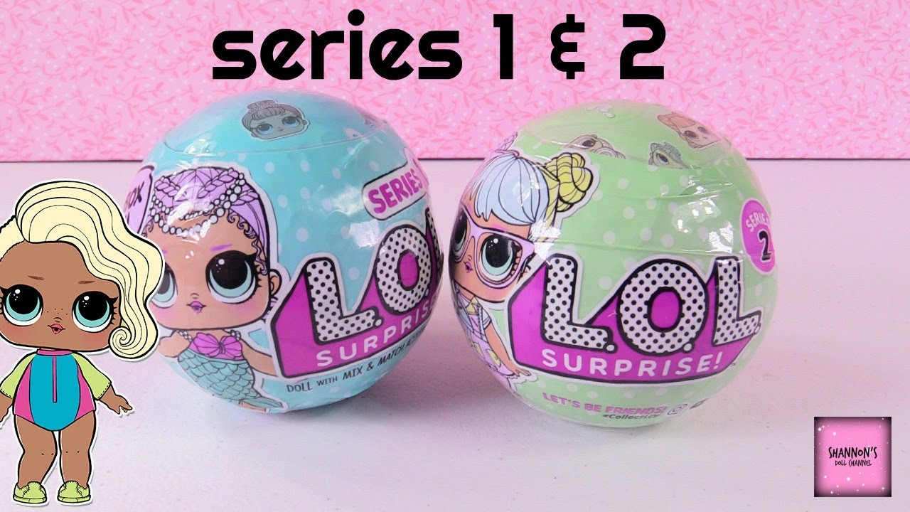 LOL Surprise Dolls Series 1 & 2 Review Cries Color Change & More Opening