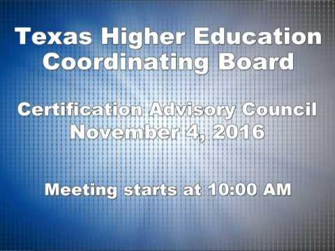 Certification Advisory Council