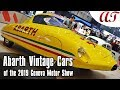 Abarth Vintage Cars of the 2019 Geneva Motor Show * A&T Design