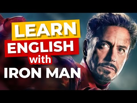 Learn English With Iron Man