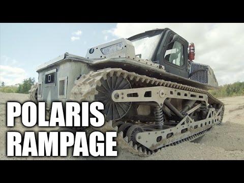 Polaris Rampage Military Vehicle