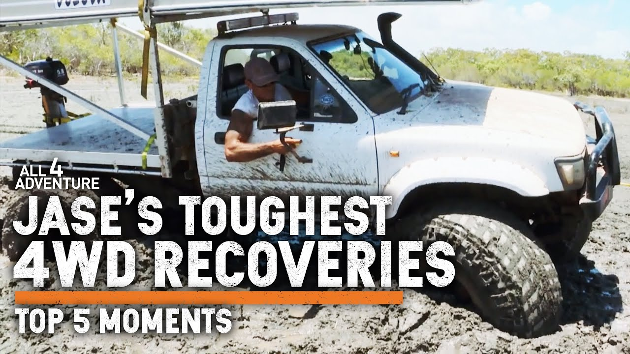 🔥 JASE'S TOP 5 TOUGHEST 4WD RECOVERIES — Australia's #1 Adventure team BOGGED!