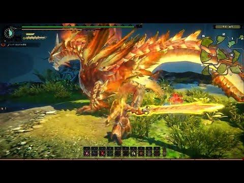 Monster Hunter Online - Estrellian Armor Set Boss Gameplay