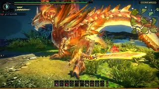 Monster Hunter Online - Estrellian Armor Set Boss Gameplay