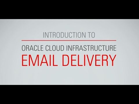 Oracle Email Delivery