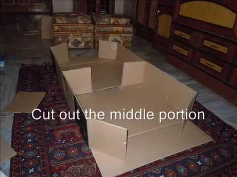 How to make a home made guinea pig house youtube for How to build a guinea pig house