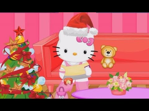 Hello Kitty Christmas Room Clean Up Play The Girl Game Online Baby