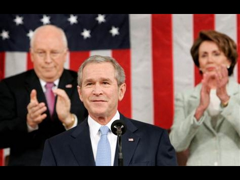a review of president bushs state of union address to congress on americas unification process Us presidents step into the oval the state of the union address george w bush - forty-third president of the united states.