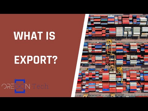 What is Export? | Oregon Tech