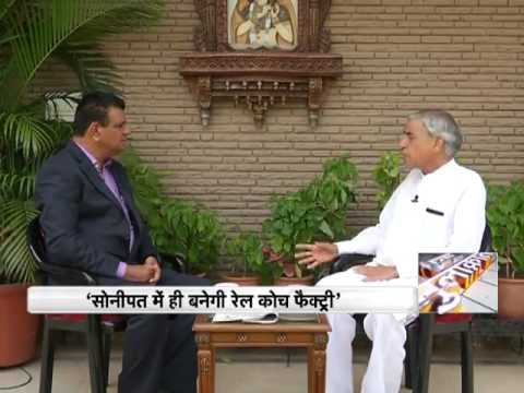 Former Railway Minister Pawan Kumar Bansal talks about the necessity of metro in Chandigarh