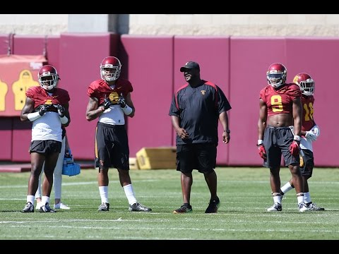 USC Football OC Tee Martin on Spring Practice