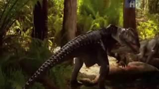 Dilophosaurus tribute
