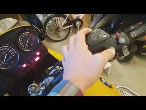 BMW R1150GS ABS fault - How to reset the ABS error