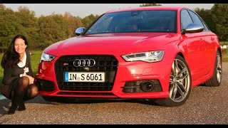 The New 2015 Audi A6 & S6 Test Drive