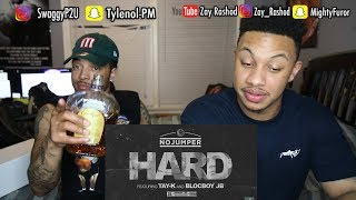 No Jumper feat Tay K & Blocboy JB - Hard (Official Audio) Reaction Video