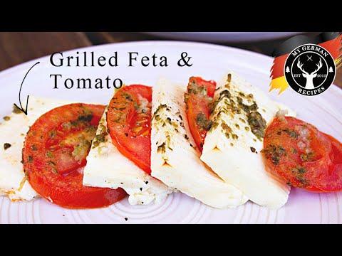 Grilled Feta Tomato Ships ✪ MyGerman.Recipes