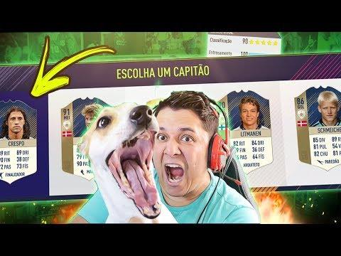 DRAFT DAS LENDAS COM O MAX!!! FIFA 18 FUT DRAFT!!! 🐶🔥