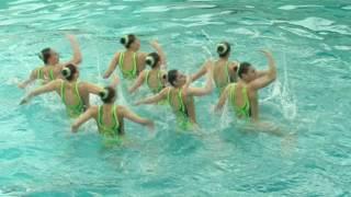 Открытый Кубок Украины по синхронному плаванию, день 1