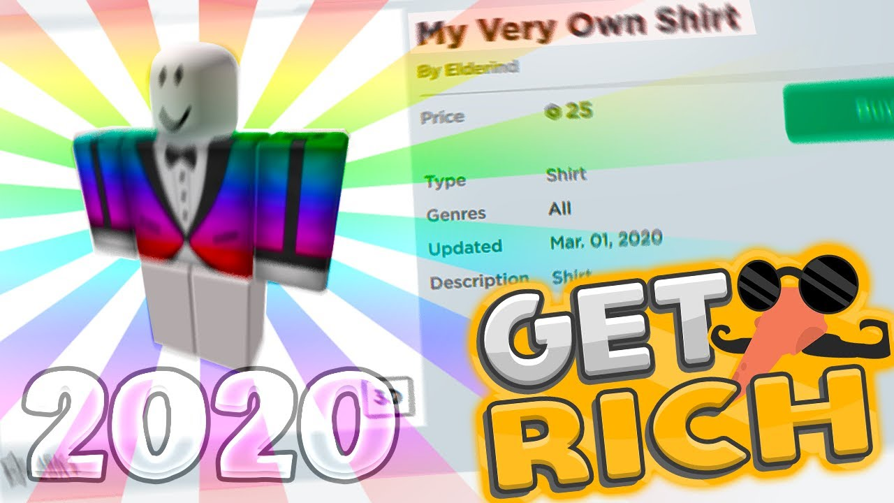 How To Make Your Own Shirt On Roblox 2020 Youtube