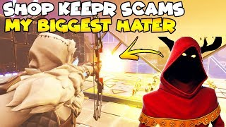 Shop Keeper Scams My Hater! 😱 (Scammer Gets Scammed) Fortnite Save The World