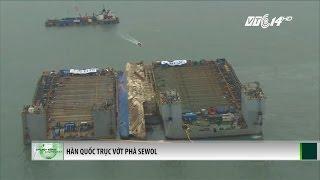 (VTC14)_Hàn Quốc trục vớt phà Sewol tìm 9 thi thể mất tích