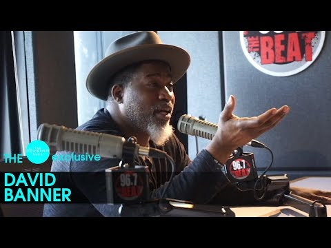 illusion.buzz | Exclusive David Banner UNCENSORED Interview. Talks Kanye, Trump, TMZ, + More