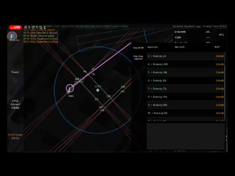 Infinte flight ATC: CYYZ |