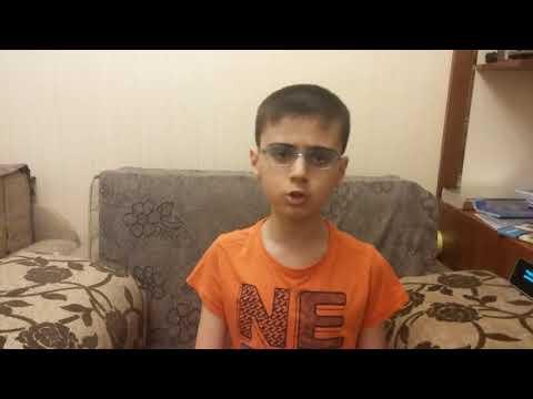 John Lennon  Imagine by a 9 year old boy Ali Abdullayev,Baku Azerbaijan
