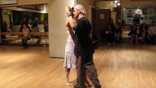 Tango Lesson: The Forward Ocho Transition