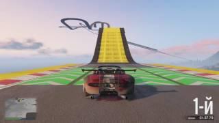 GTA Online DLC Cunning Stunts WORLD RECORD Race