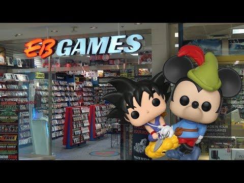 Quick Pop Hunt At EB Games!
