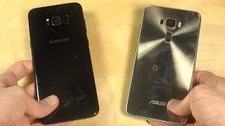 Samsung Galaxy S8 Plus vs. ASUS ZenFone 3 Android 7.0 - Which Is Faster?
