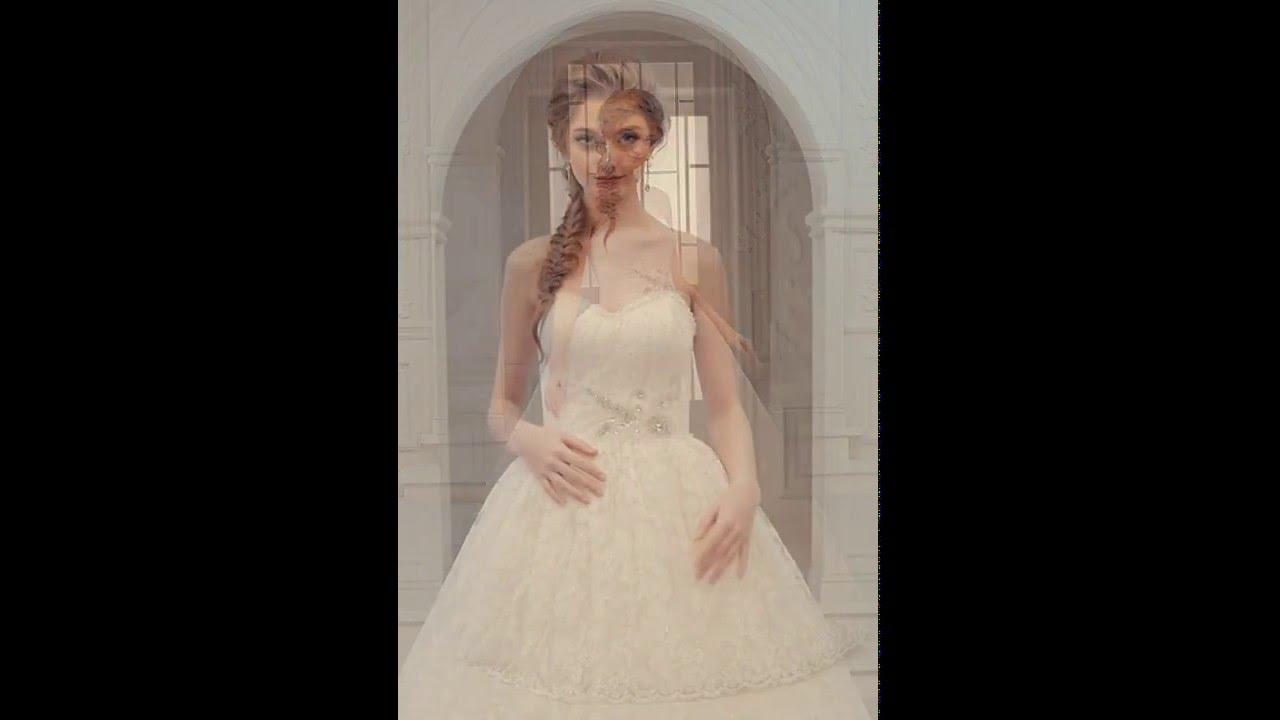 b2e9ef736ecdd فساتين زفاف يوتوب. فل وياسمين لبدلات العرائس