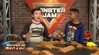 Grave Digger Monster Truck Saves  Monster Jam Revved Up Recaps Ep1