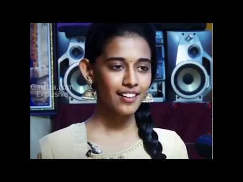 Beautiful Voice of a Tamil girl - Kannalane Song from Mumbai