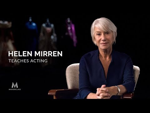 Helen Mirren Teaches Acting