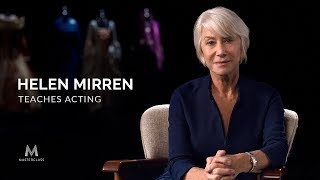 Helen Mirren Teaches Acting | Official Trailer