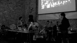 "MATMOS + HORSE LORDS ""Rag for William S. Burroughs"" @ Visionary Art Museum, 10.14.11"