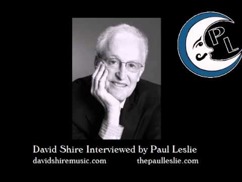 David Shire Interview on The Paul Leslie Hour