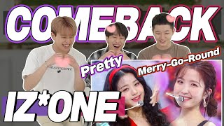 eng) IZONE 'Pretty & 회전목마(Merr…