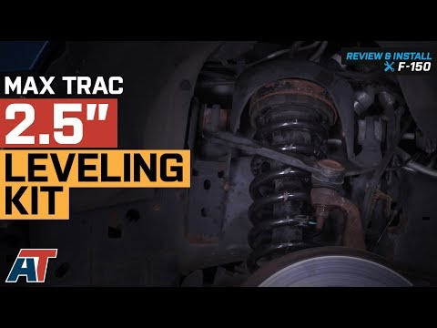 "2004-2018 F150 Max Trac 2.5"" Leveling Kit 2WD & 4WD Review & Install"