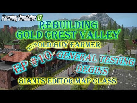 FS17 GCV Old Guy Farms Cow Farm General Testing Begins ep #10